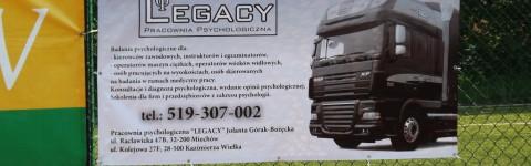 """Turniej """"Miechów na sportowo"""", LEGACY wsród sponsorów!"""